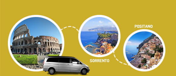 Car Service Rome Airport To Sorrento